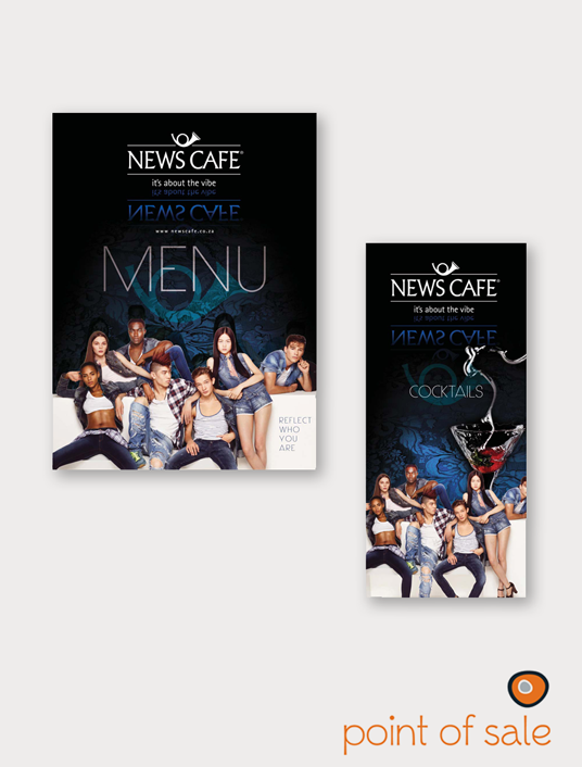 News Cafe Menu
